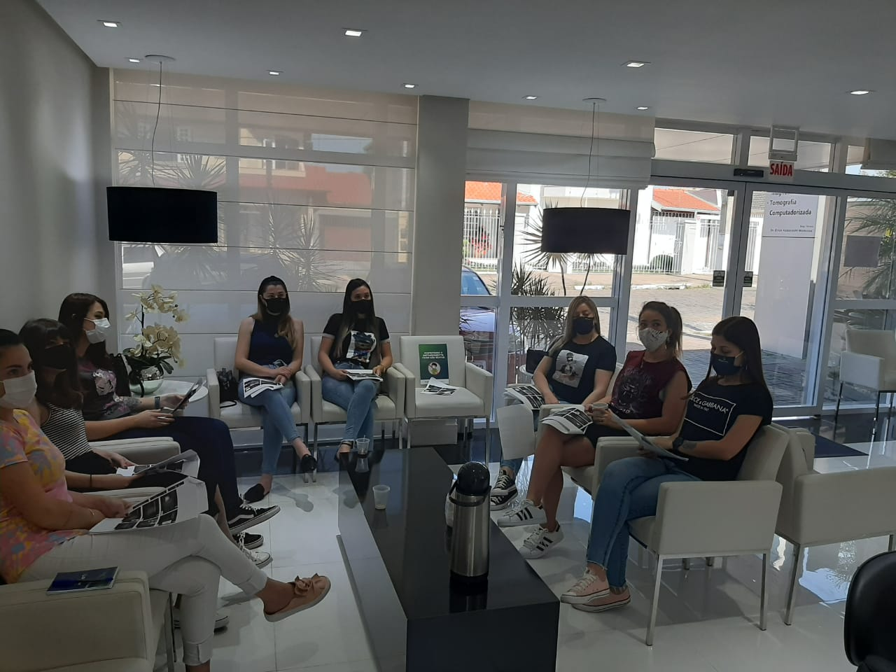 Colaboradores das Clínicas Digimax participam de workshop sobre Excelência no Atendimento, Atendimento Humanizado e Acolhimento e Liderança com Excelência